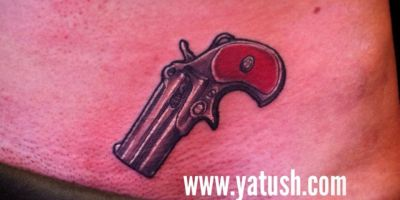 Little Pistol Tattoo